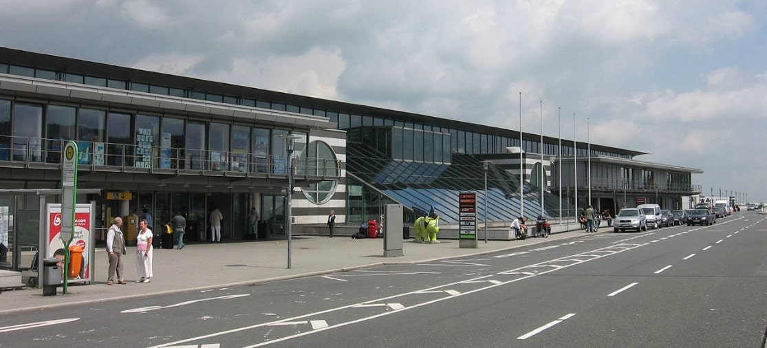 Parkeren op de luchthaven van Dortmund