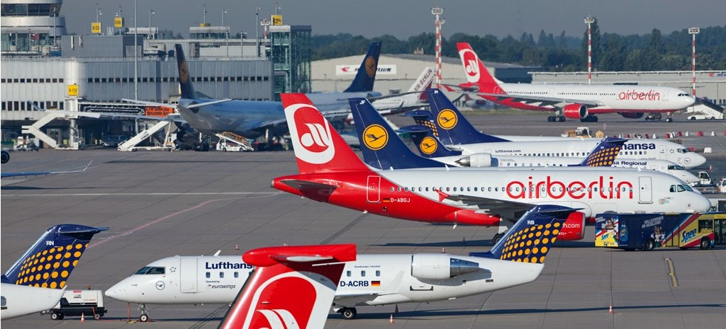 Vliegen vanaf Düsseldorf Airport