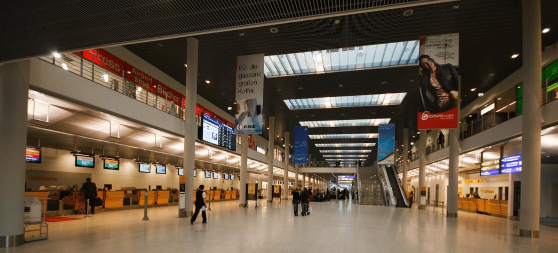 Faciliteiten en hotels FMO Airport