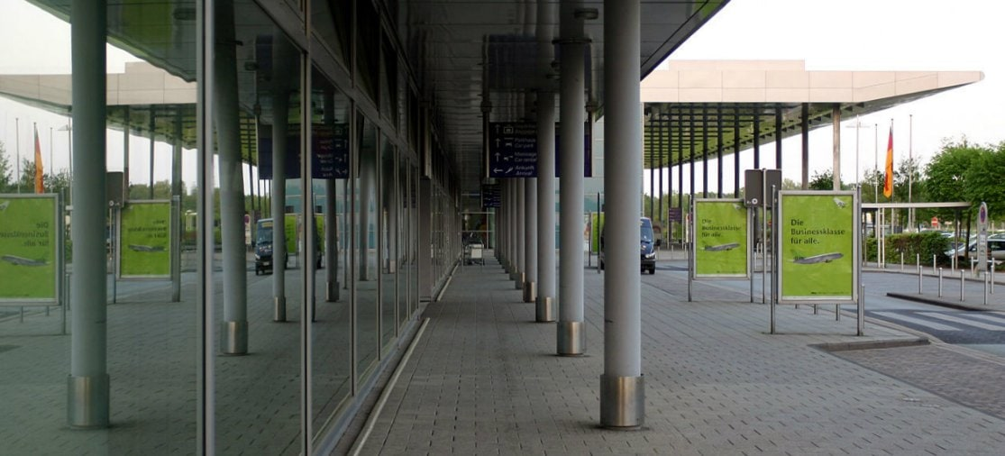 Parking FMO Airport