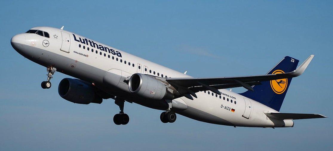 Lufthansa vliegt van FMO Airport naar de hubs Frankfurt en München