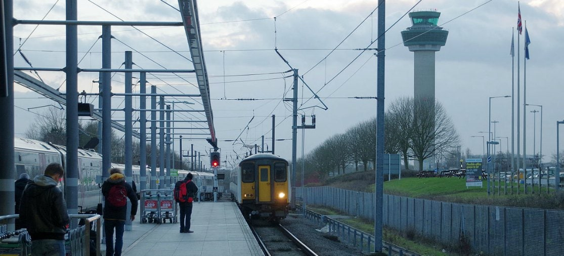 Trein van Stansted Airport naar London-centrum