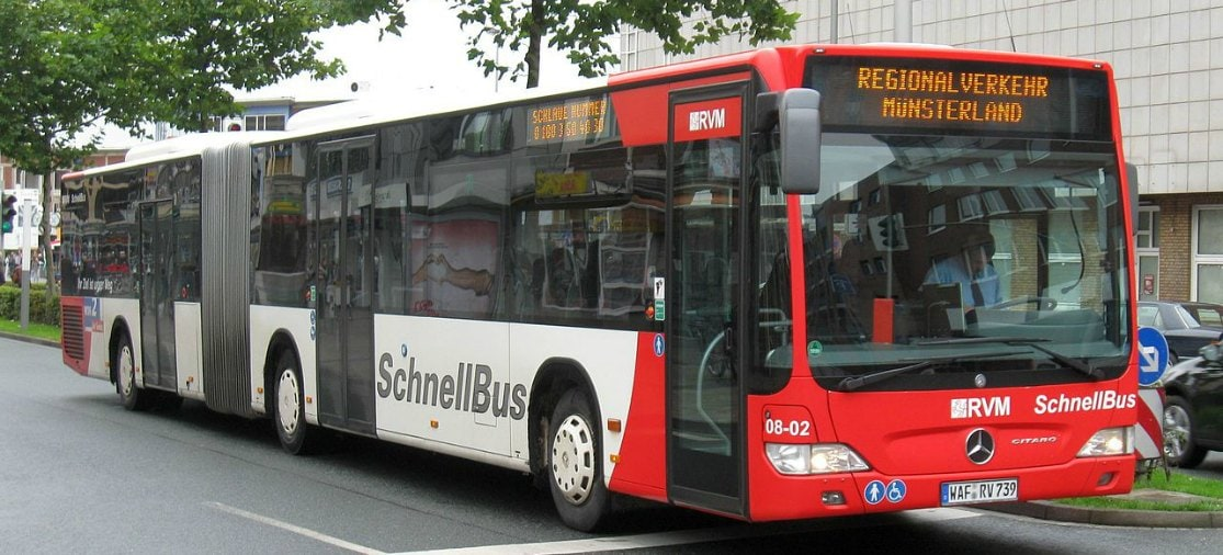 Snelbus van Münster naar FMO Airport